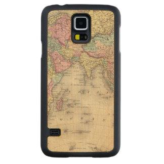 Eastern Hemisphere 16 Carved Maple Galaxy S5 Case