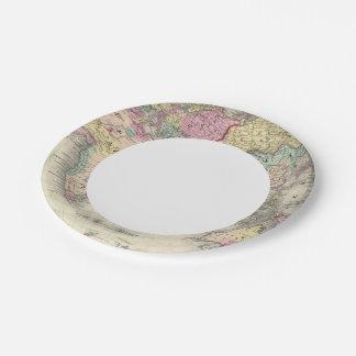 Eastern Hemisphere 16 Paper Plate