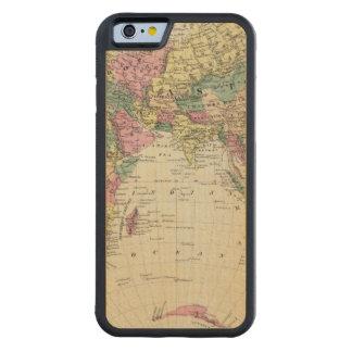 Eastern Hemisphere 2 Carved® Maple iPhone 6 Bumper Case