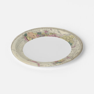 Eastern Hemisphere 2 Paper Plate