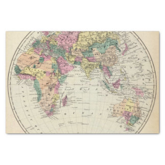 Eastern Hemisphere 2 Tissue Paper