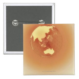 Eastern Hemisphere 3 15 Cm Square Badge