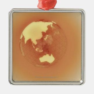 Eastern Hemisphere 3 Christmas Ornament