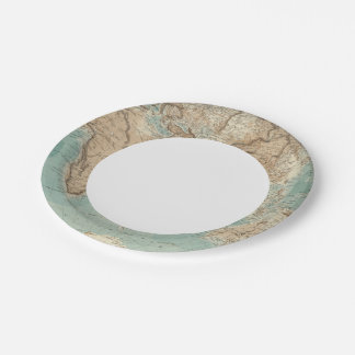 Eastern Hemisphere 3 Paper Plate