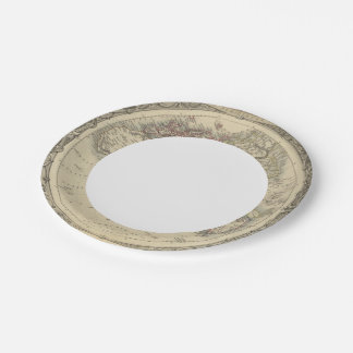 Eastern Hemisphere 4 2 Paper Plate