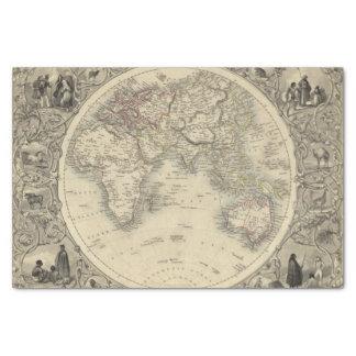 Eastern Hemisphere 4 2 Tissue Paper