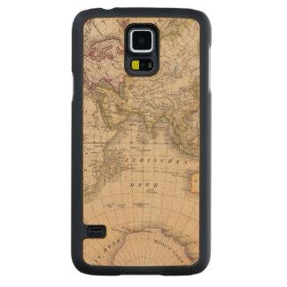 Eastern Hemisphere 4 Carved Maple Galaxy S5 Case