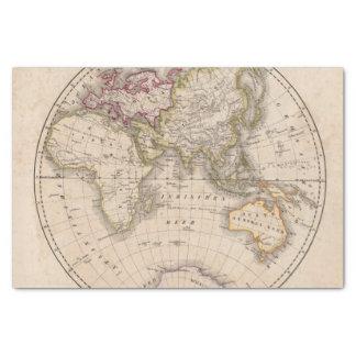 Eastern Hemisphere 4 Tissue Paper