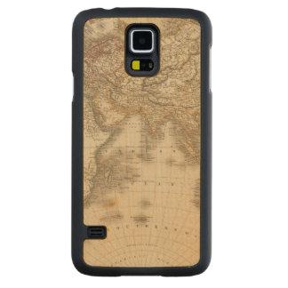 Eastern Hemisphere 5 Carved Maple Galaxy S5 Case