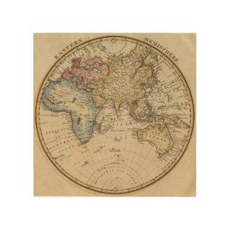 Eastern Hemisphere 9 2 Wood Wall Art