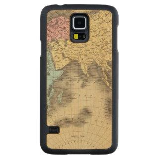 Eastern Hemisphere 9 Carved Maple Galaxy S5 Case