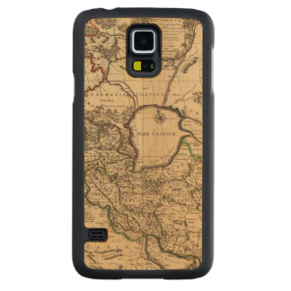 Eastern Hemisphere and Rome Carved Maple Galaxy S5 Case