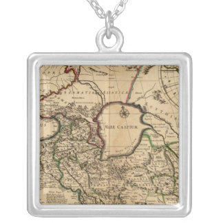 Eastern Hemisphere and Rome Silver Plated Necklace