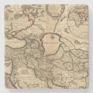 Eastern Hemisphere and Rome Stone Coaster