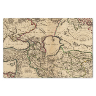 Eastern Hemisphere and Rome Tissue Paper
