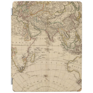 Eastern Hemisphere Circular Map iPad Cover