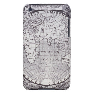 Eastern Hemisphere iPod Touch Case-Mate Case