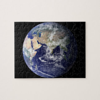 Eastern Hemisphere of Earth From Space Puzzle