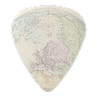 Eastern Hemisphere of Europe Acetal Guitar Pick