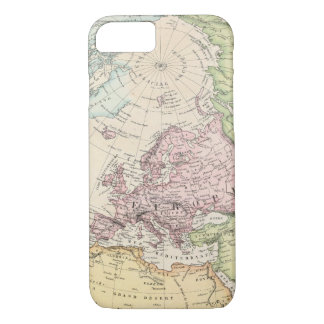 Eastern Hemisphere of Europe iPhone 8/7 Case