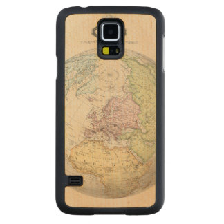 Eastern Hemisphere of Europe Maple Galaxy S5 Case