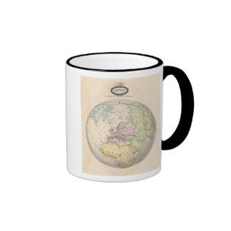 Eastern Hemisphere of Europe Coffee Mugs