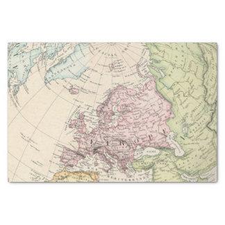 Eastern Hemisphere of Europe Tissue Paper