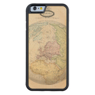 Eastern Hemisphere of Europe Carved® Maple iPhone 6 Bumper Case