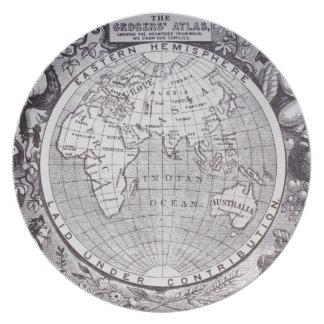 Eastern Hemisphere Plate
