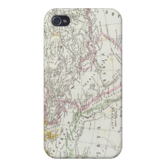 Eastern Hemisphere World Lithographed Map iPhone 4/4S Cases