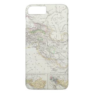 Eastern Hemisphere World Map iPhone 8 Plus/7 Plus Case