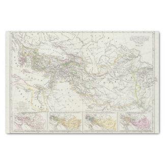 Eastern Hemisphere World Map Tissue Paper