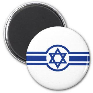Eastern Israeli Belt Flag israel david cross 6 Cm Round Magnet