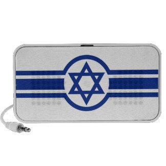 Eastern Israeli Belt Flag israel david cross Notebook Speaker