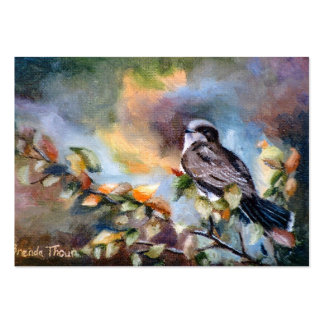 Eastern Kingbird Art Card Pack Of Chubby Business Cards