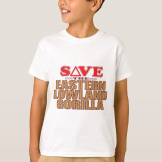 Eastern Lowland Gorilla Save T-Shirt