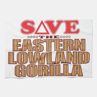 Eastern Lowland Gorilla Save Tea Towel