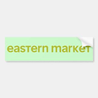 Eastern Market Bumper Stickers