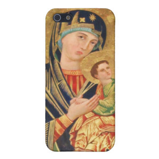 Eastern Orthodox icon of the Virgin Mary iPhone 5/5S Cases