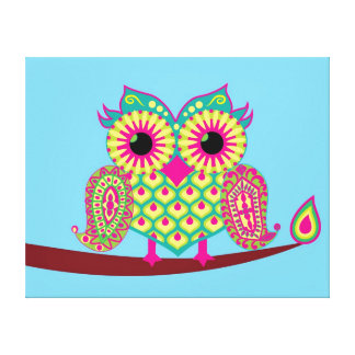 Eastern Owl Magic Canvas Print