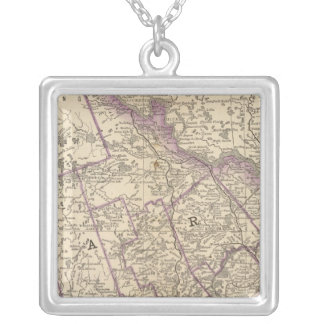 Eastern part of Ontario Silver Plated Necklace