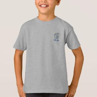 Eastern Pictograms - Blues, Yellows - Monogram T-Shirt