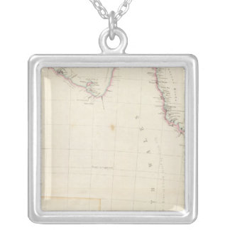 Eastern Portion of Australia Silver Plated Necklace