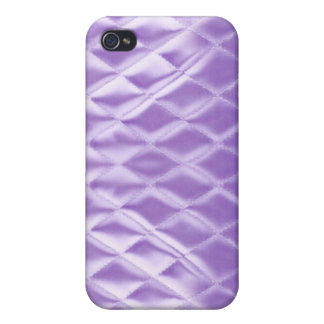Eastern promise lilac quilted satin design iPhone 4/4S case