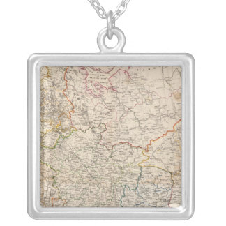 Eastern Russia Silver Plated Necklace