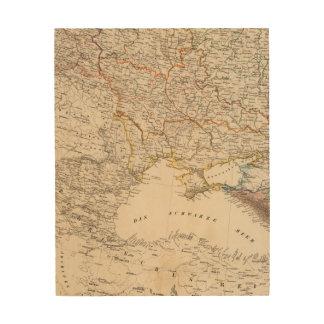 Eastern Russia Wood Print