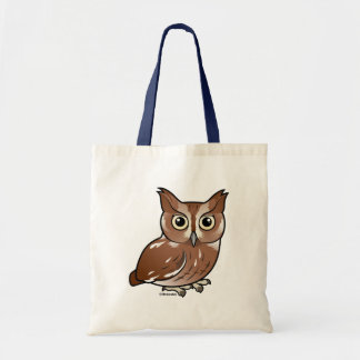Eastern Screech Owl (Red Phase) Budget Tote Bag
