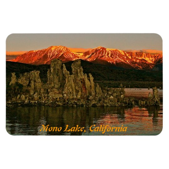 EASTERN SIERRA AND MONO LAKE AT SUNRISE MAGNET