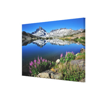 Eastern Sierra Mountains Canvas Print