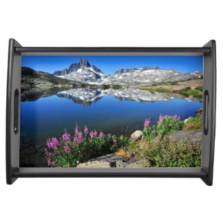 Eastern Sierra Mountains Serving Tray